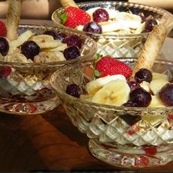 Crunchy Berry Parfait